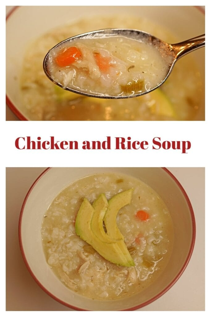 Comforting, family friendly, chicken soup that will warm your life.  This is the perfect chicken soup for a lazy evening. -APinchOfAdventure