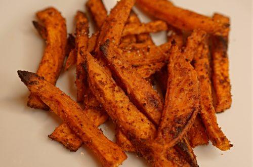 Whole 30 friendly sweet potato fries