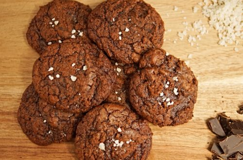 Dark Chocolate Brookies