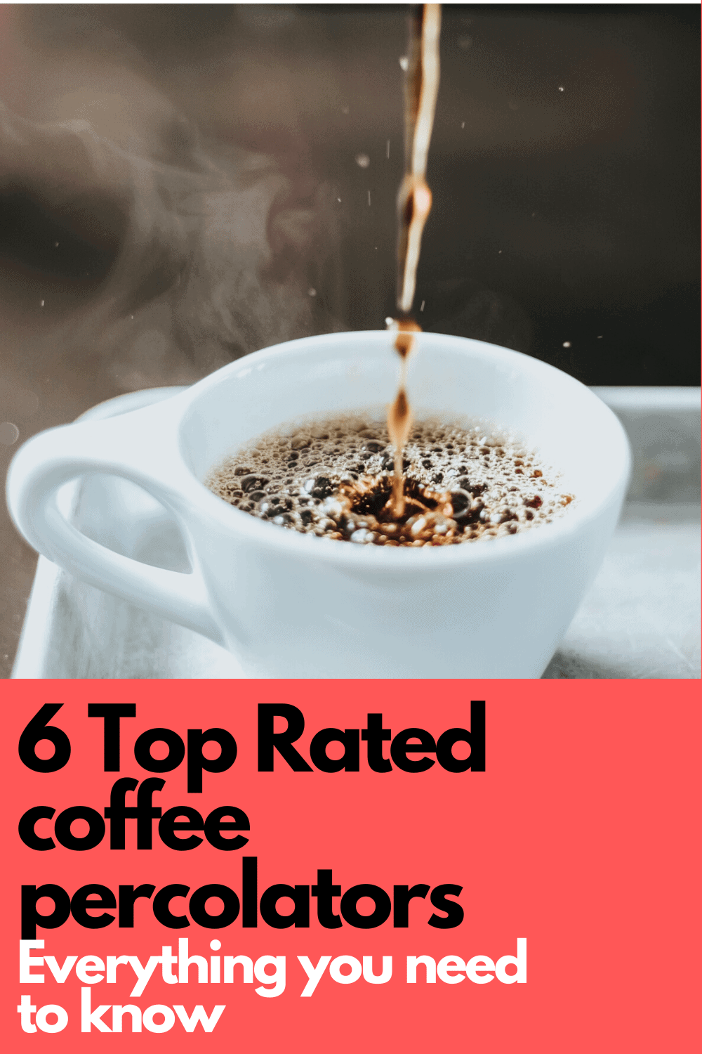 This article includes everything you need to know about coffee percolators from how to make coffee in a percolator to how to clean an electric percolator. You will find helpful reviews of the top 6 electric percolators as well as other information about how a percolator works and what is the right percolator coffee grind to use. Included in this article is a video tutorial of how to work an electric coffee percolator. Find THE BEST Coffee percolator on the market -APinchOfAdventure