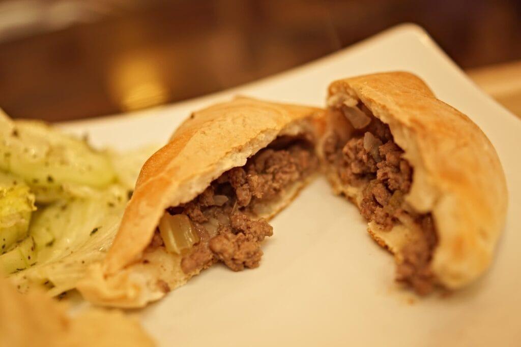 Lebanese Meat pies, beef fatayer, or sfeeha bil lahme