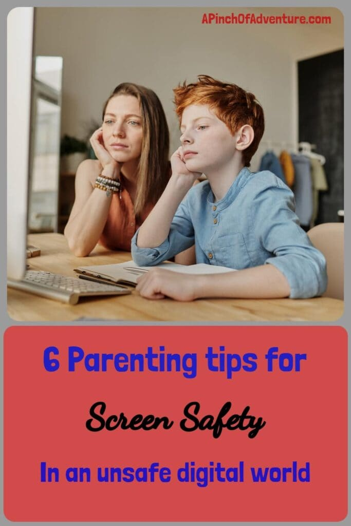 This article is about how to keep your children safe on the internet. It contains helpful tips on safeguarding our children and how to talk to kids about internet safety and pornography as well as products that can limit screen time, add filters to each device and more. This article gives great screen safety parenting advice for kids in a world of technology where everything is a click away. Keeping kids safe on the internet is very important and Circle can help with that as well as open communication with kids. -APinchOfAdventure