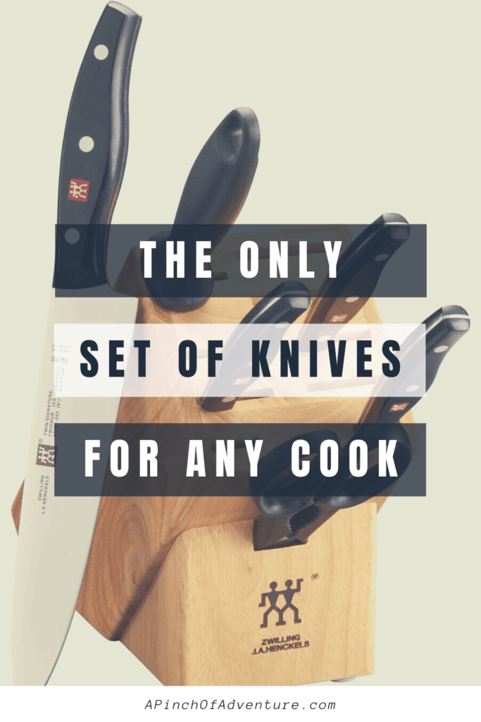 This is a review of the best knife set on the market with different sizes and styles of knives to have a versatile cutlery set in the kitchen. This cutlery set is a kitchen must have for any cook. These knives sty sharper longer and are forged to last long and are the best kitchen tools to have.