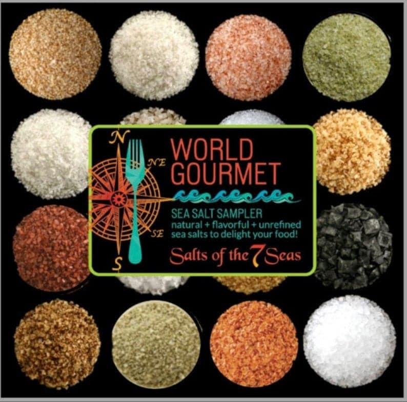 World Gourmet Sea Salt Sampler