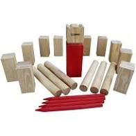Kubb, a great outdoor game for families