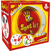 Spot it, a great game for families of all ages