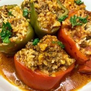 healthy stuffed peppers