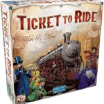 Ticket to Ride, my kids' favorite game of all, good for ages 7 and up