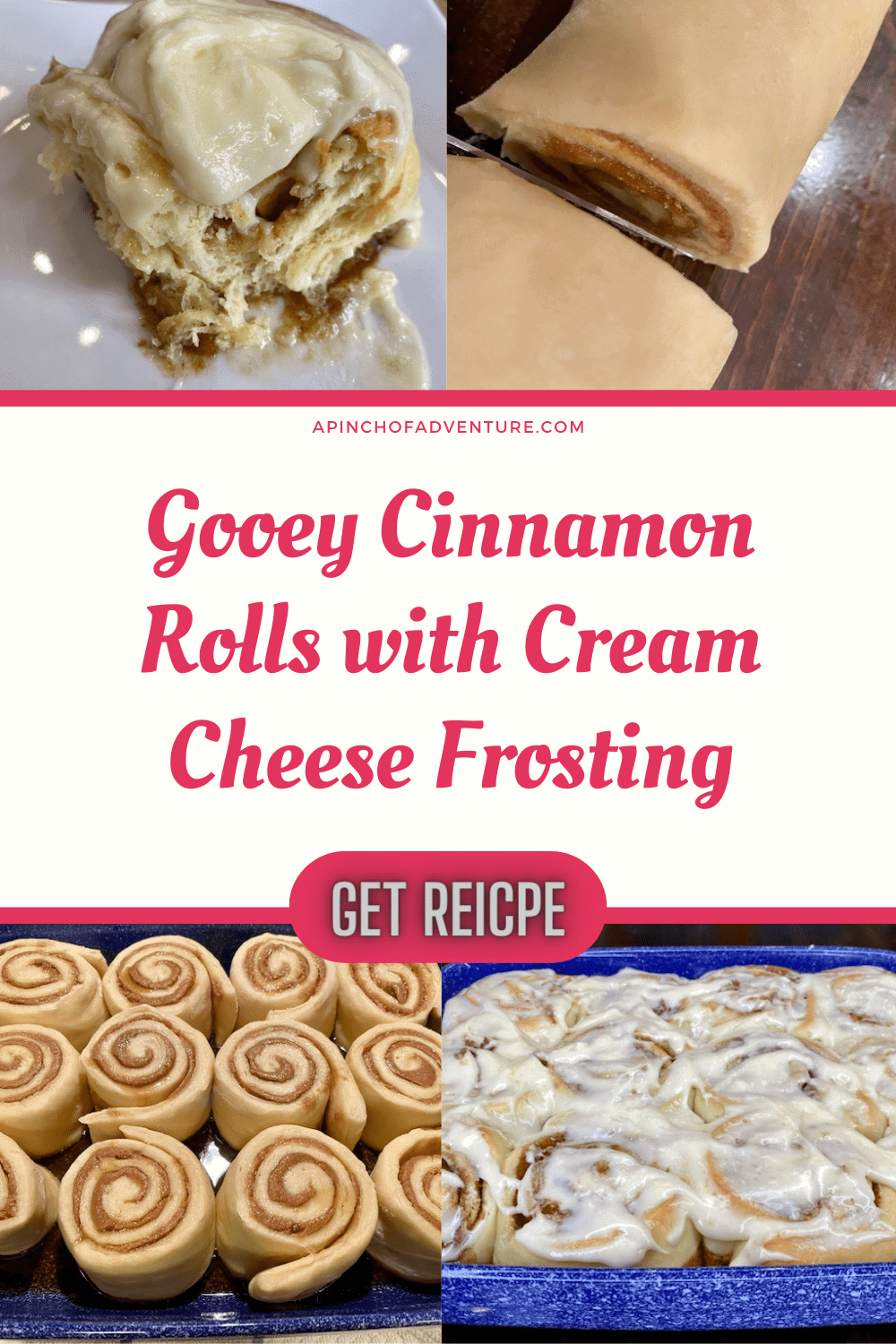 This is the best homemade cinnamon roll recipe with cream cheese frosting. It's even better than Cinnabon and it rivals the Pioneer Woman cinnamon rolls recipe. These gooey flaky cinnamon rolls are perfectly fluffy and the cinnamon filling is perfect. Complete it with homemade cream cheese frosting for cinnamon rolls and it is the perfect Christmas morning cinnamon roll recipes. This brunch recipe is great for special occasions and the perfect breakfast sweet