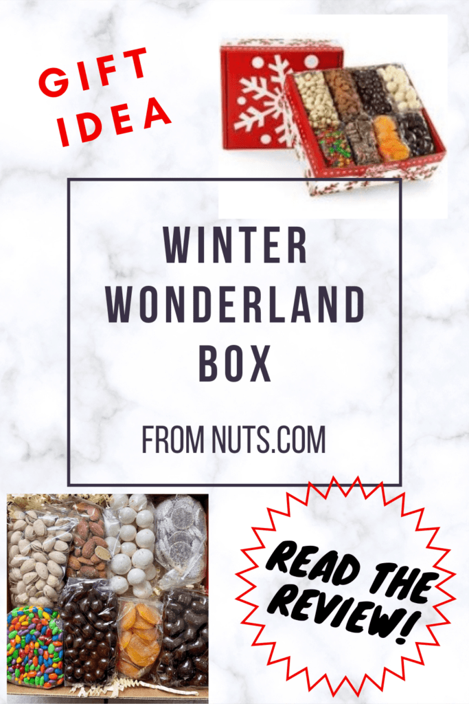 Find out why this is a great gift idea for your boss or employee. This review of the Winter Wonderland Box from nuts.com is a complete and thorough review. It's a great gift idea for employees and it's also a great assortment of nuts and candies to have around for entertainment around the holidays.