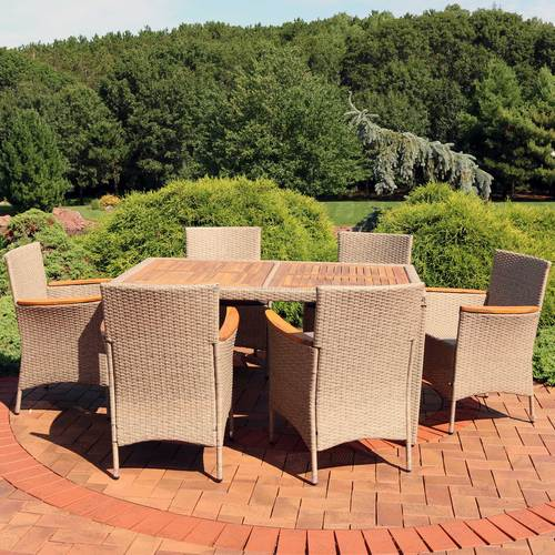 outdoor dining set for outdoor dinner parties