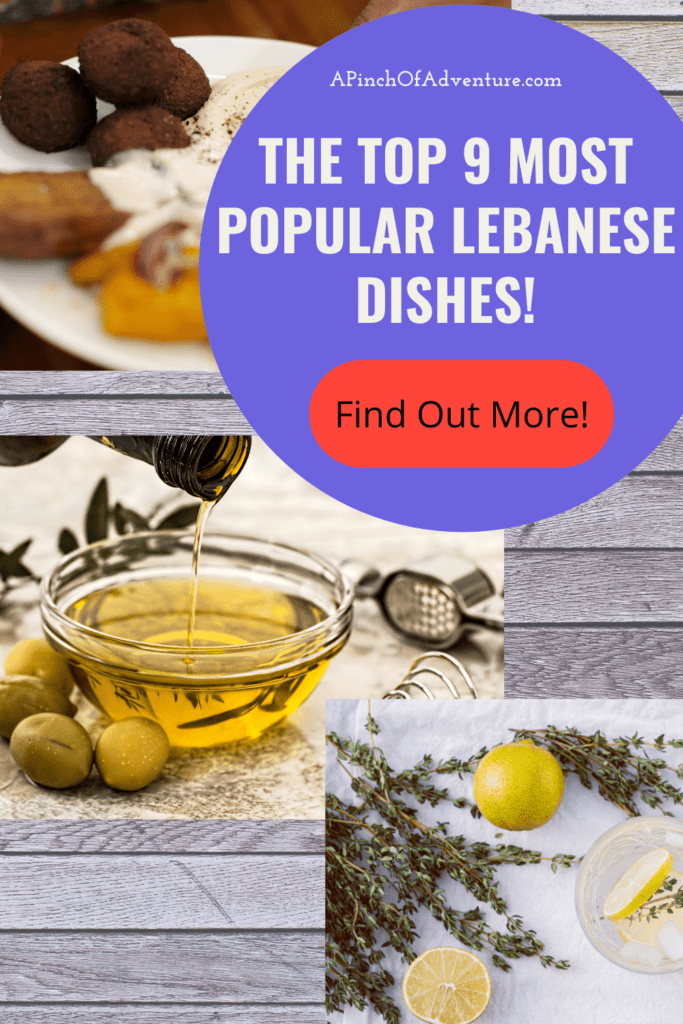 What is Lebanese food? Find out what are popular Lebanese foods and what they are in this article. Is Lebanese cuisine compatible with the Mediterranean Diet? Everything you need to know about Lebanese food as a part of Middle Eastern and Mediterranean food is found in this article! Recipes and information inside. A guide to traditional Lebanese food and the top 9 most popular Lebanese dishes!