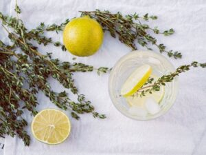 Thyme, Za'atar spice blends uses roasted Thyme in Lebanese cooking