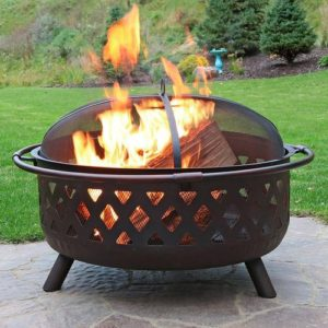 36 fire pit for patio entertaining