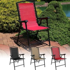 Outdoor Mesh folding chair, thee best items for deck and patio