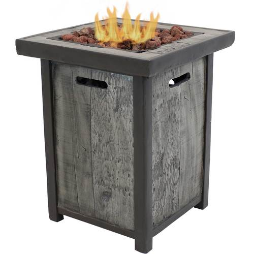fire pit table for entertaining backyards