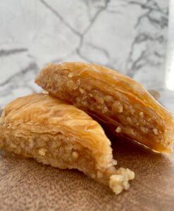 Lebanese baklawa with walnuts