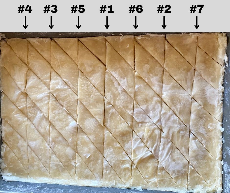 How to cut diamonds into baklava