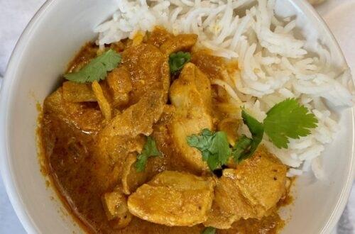 Indian Butter Chicken Instant Pot