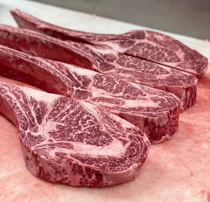 The best Tomahawk Wagyu from the Meatery