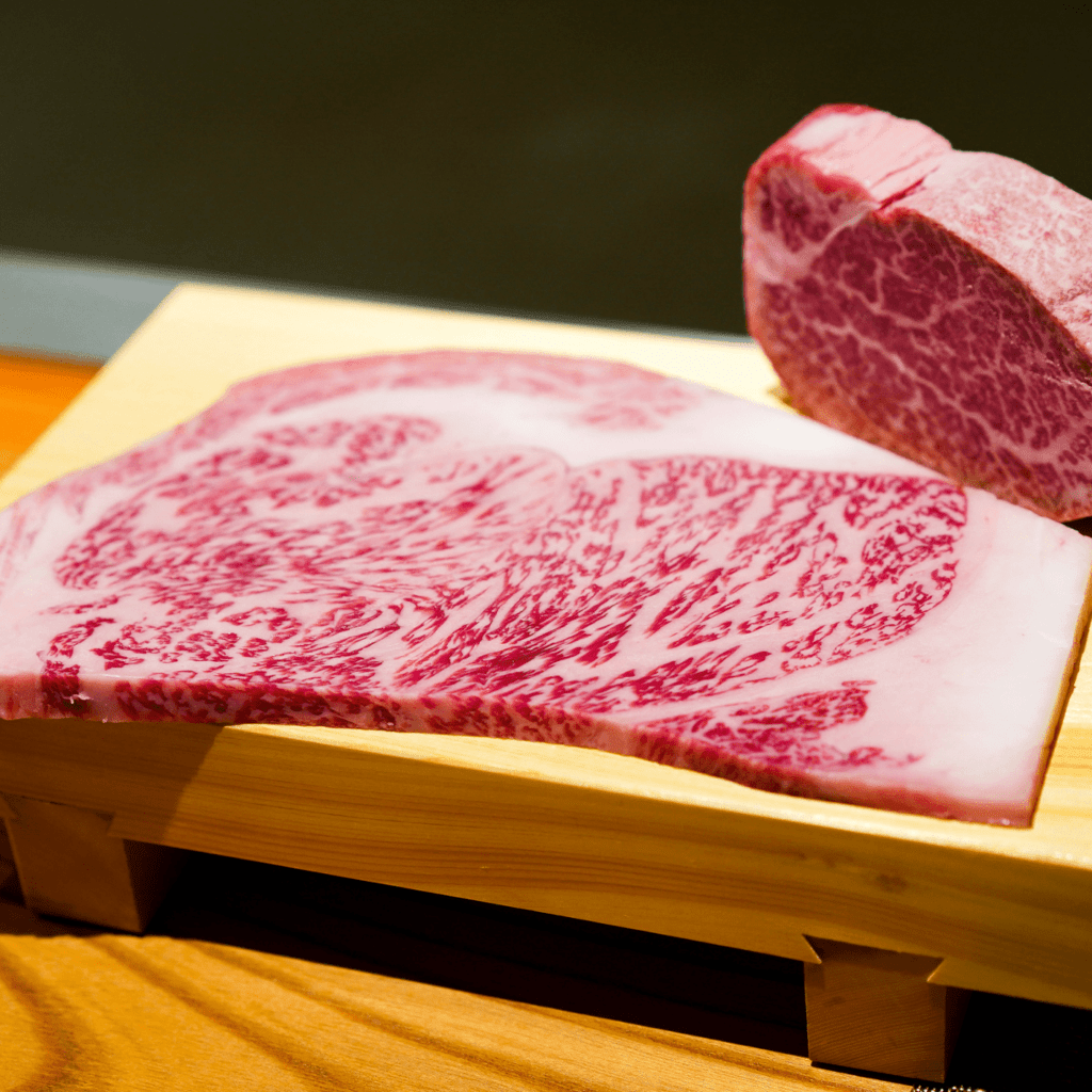 raw Japanese Steak